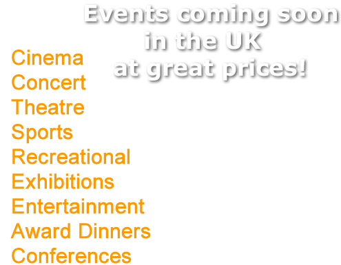 United Kingdom  Entertainment Events
